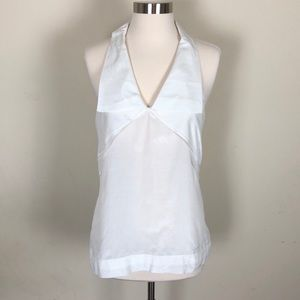 In Add Minus sleeveless white top size 4
